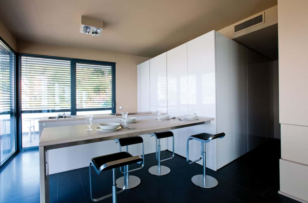 Appartamento arredato minimal